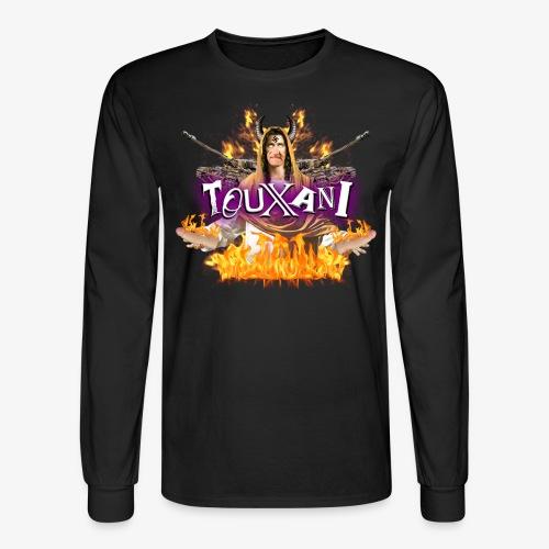 LOGO TOUXANI + MECHA-JÉSUS - T-shirt manches longues pour hommes