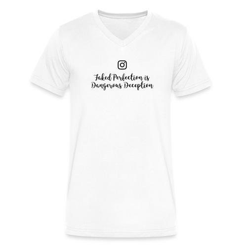 deception - Men's V-Neck T-Shirt by Canvas