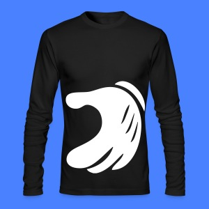 Matching Heart Long Sleeve Shirts - Men's Long Sleeve T-Shirt by Next Level