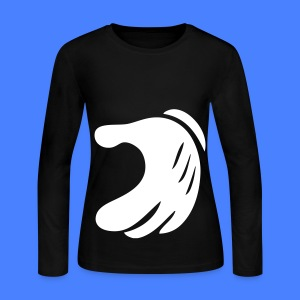 Matching Heart Long Sleeve Shirts - Women's Long Sleeve Jersey T-Shirt