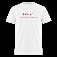 T-Shirts ~ Men's T-Shirt ~ DotA 2 I Won Mid Shirt