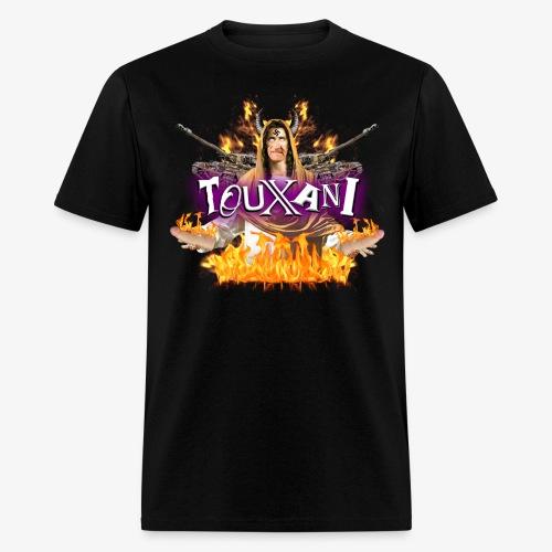 LOGO TOUXANI + MECHA-JÉSUS - Men's T-Shirt