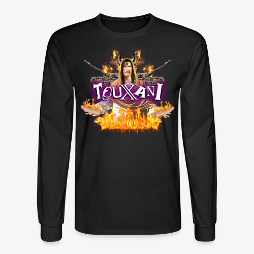 LOGO TOUXANI + MECHA-JÉSUS - Men's Long Sleeve T-Shirt