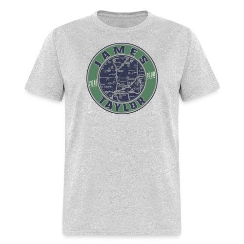 2018 JT Tour Map - Men's T-Shirt