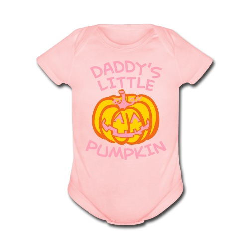 Daddy''s Little Pumpkin - Short Sleeve Baby Bodysuit