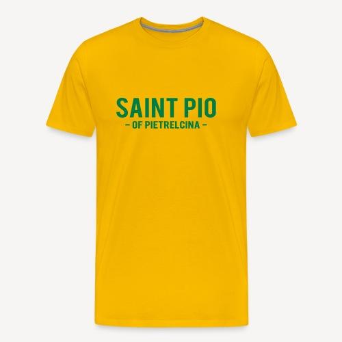 SAINT PIO - Men's Premium T-Shirt