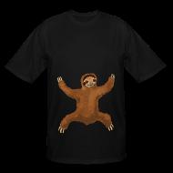 T-Shirts ~ Men's Tall T-Shirt ~ Sloth Love Hug Men's Tall Tee
