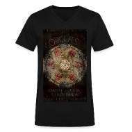 T-Shirts ~ Men's V-Neck T-Shirt by Canvas ~ GORGUTS