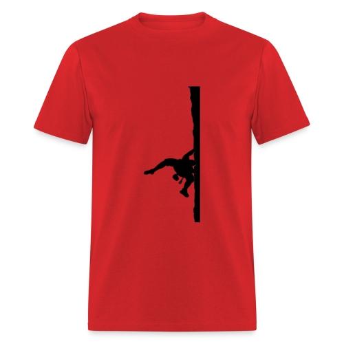 Rock Climber Red - Men's T-Shirt