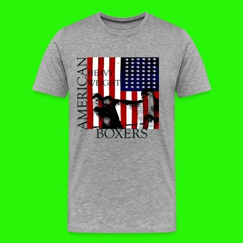 American Heayweight Boxer - Men's Premium T-Shirt