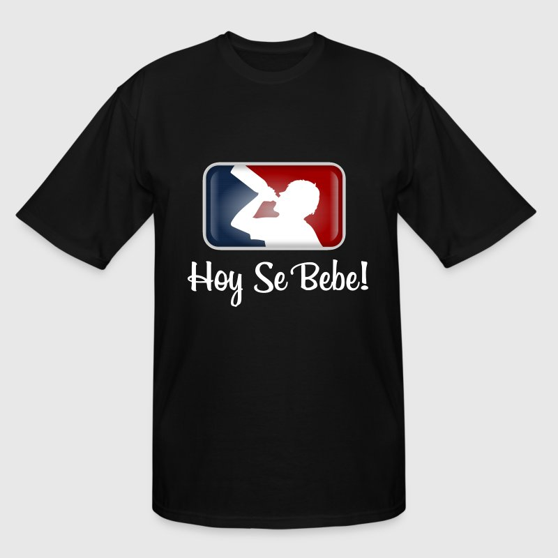 Hoy Se Bebe - Men's Tall T-Shirt
