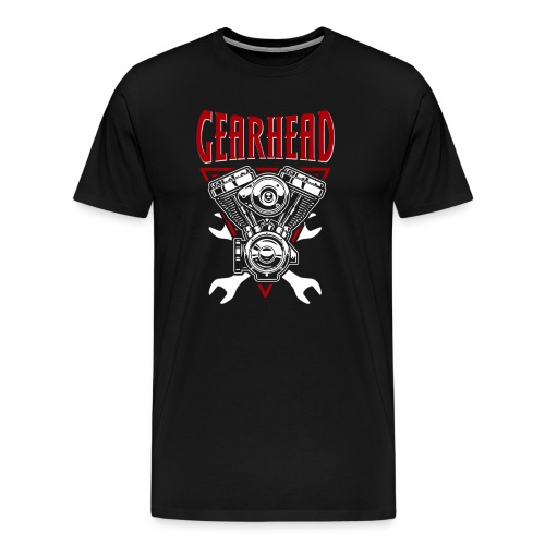 Gearhead - Premium - T-Shirt - Men's Premium T-Shirt