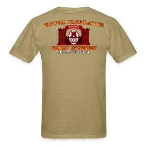 30th En Bde - RC Sapper Back Only - Men's T-Shirt