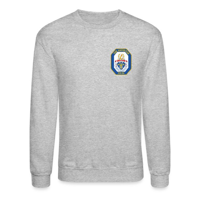 USS ANTIETAM CG-54 2009 CRUISE SWEATSHIRT - FAMILY