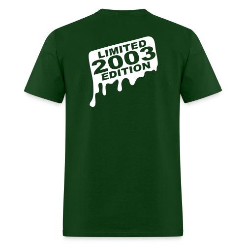 Cass Tech Grad...Limited 2003 Edition - Men's T-Shirt