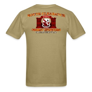 479th En Batt - RC Sapper Back Only - Men's T-Shirt