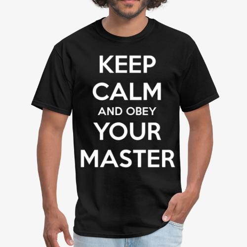 Obey Your Master - Men's T-Shirt