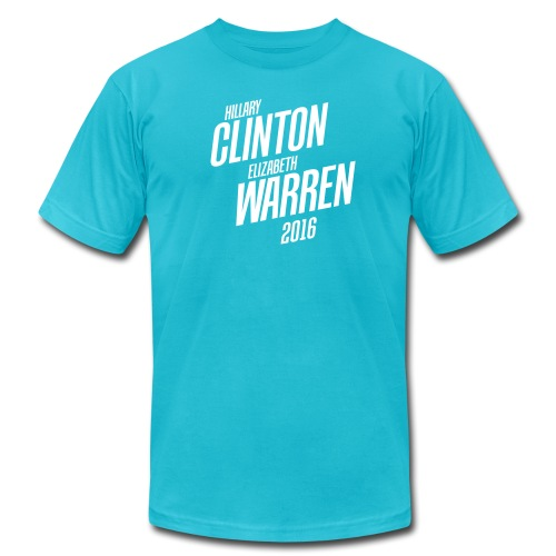 Hillary Clinton & Elizabeth Warren 2016 Mens T-shirt - Men's Fine Jersey T-Shirt