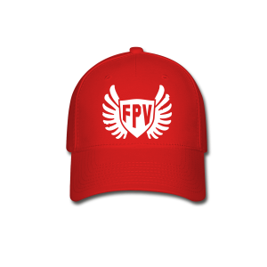 FPV Wings Red Hat - Baseball Cap