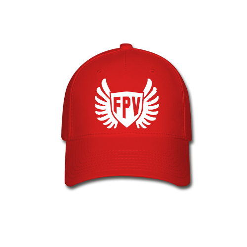 FPV Wings Red Hat - Baseball Cap