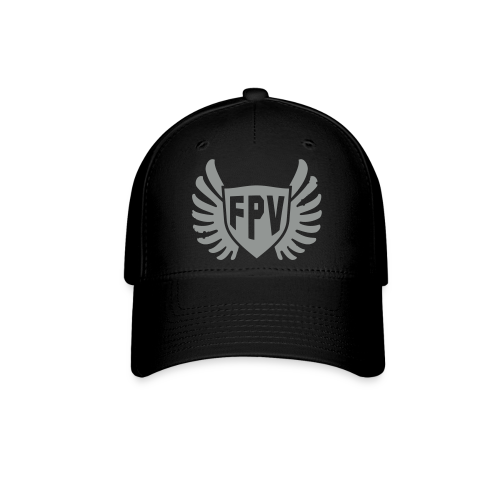 FPV Wings Black Hat - Baseball Cap