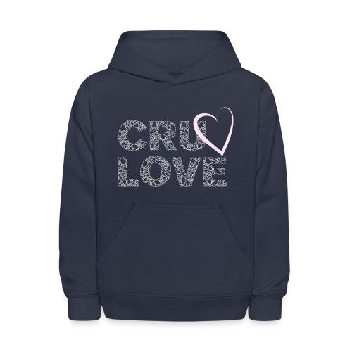CRU Love - Kids' Hoodie