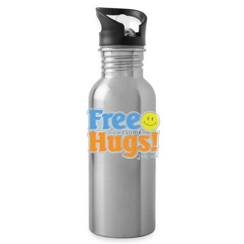 Free Awesome Hugs! - Water Bottle