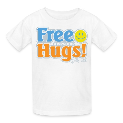 Free Awesome Hugs! - Kids' T-Shirt