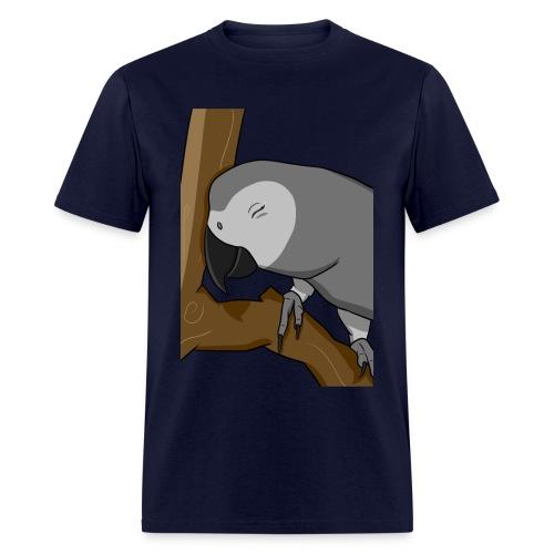 Men's Cocoa Birb - Men's T-Shirt