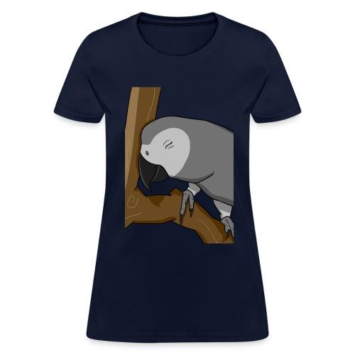 Women's Cocoa Birb - Women's T-Shirt