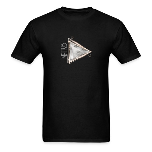 Unisex MattyB Play Button - Men's T-Shirt