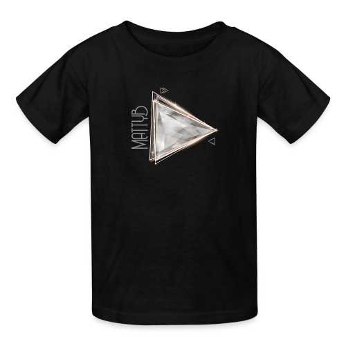 Kids MattyB Play Button - Kids' T-Shirt