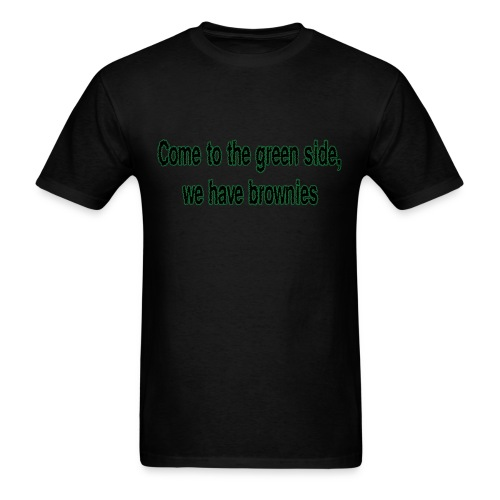 Men's The Green Side tshirt - Men's T-Shirt