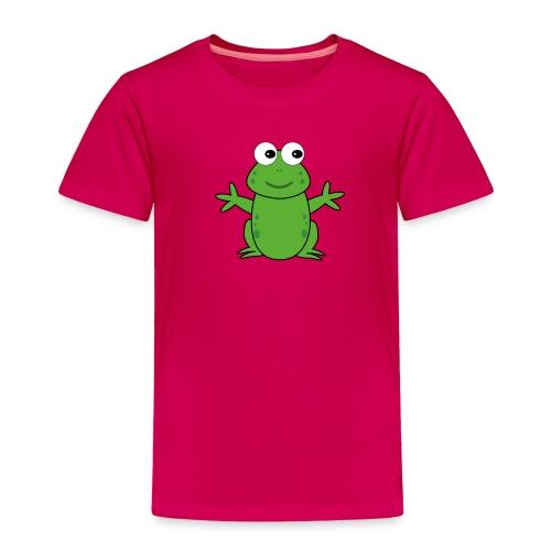 CT Baby Frog (Toddler) - Toddler Premium T-Shirt