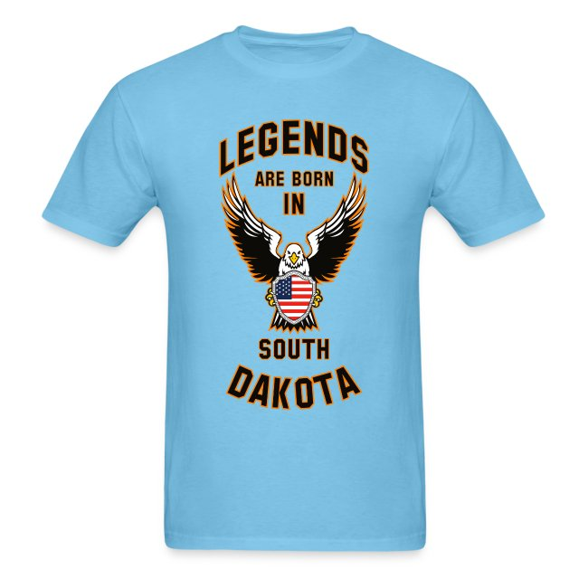 Legends are born in South Dakota