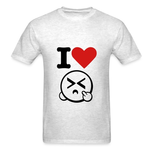 I love your mother - Men's T-Shirt