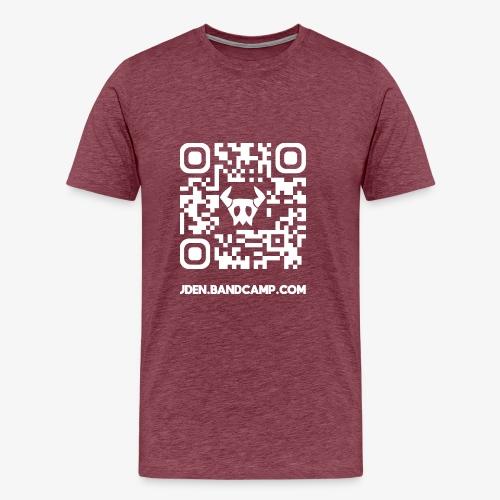 J.DEN QR Code - Men's Premium T-Shirt