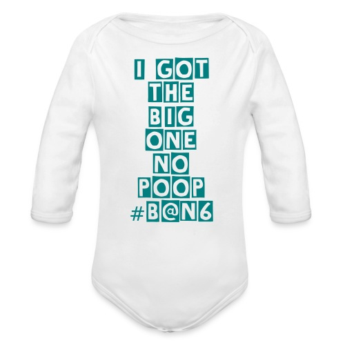 SGS BABY ALL OVER - Organic Long Sleeve Baby Bodysuit