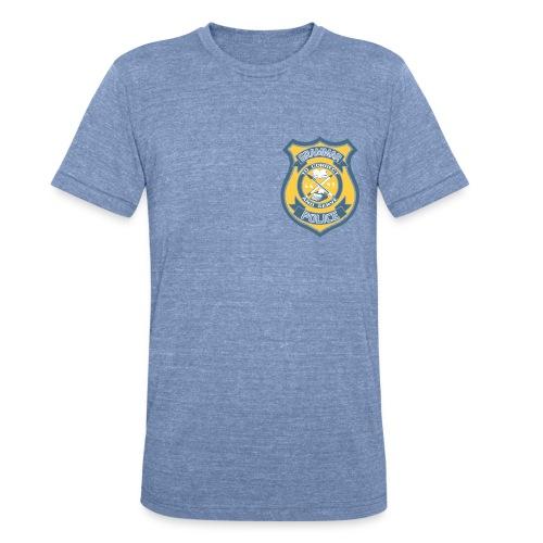 Men's Grammar Police Tri-Blend - Unisex Tri-Blend T-Shirt