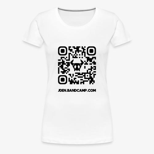J.DEN QR Code - Women's Premium T-Shirt