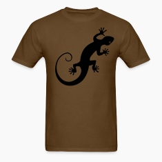Gecko Silouette T-Shirts