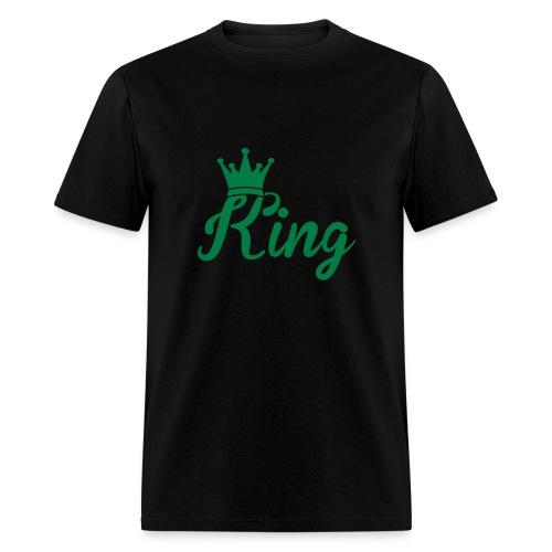 Men's Green KING Shirt - Men's T-Shirt