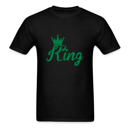 Men's Green KING Shirt - Men's T-Shirt