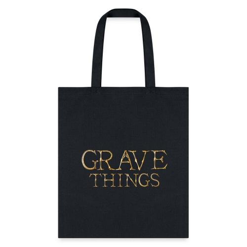 Grave Things Book Tote - Tote Bag
