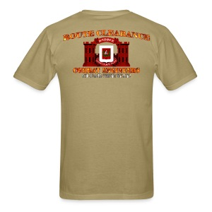 27th En Batt - RC Sapper Back Only - Men's T-Shirt