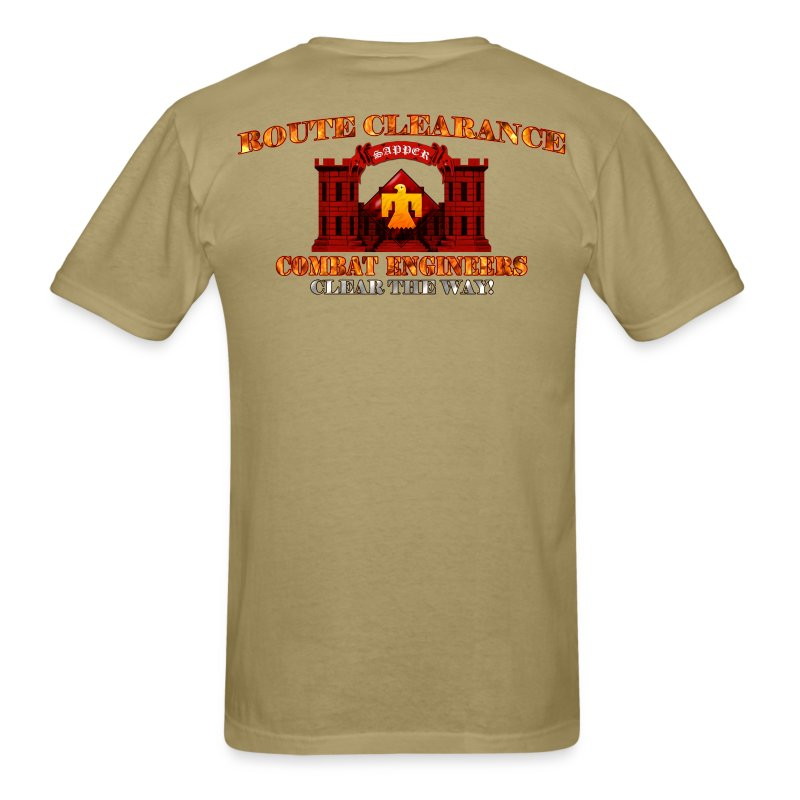 45th ID - RC Sapper Back Only - Men's T-Shirt