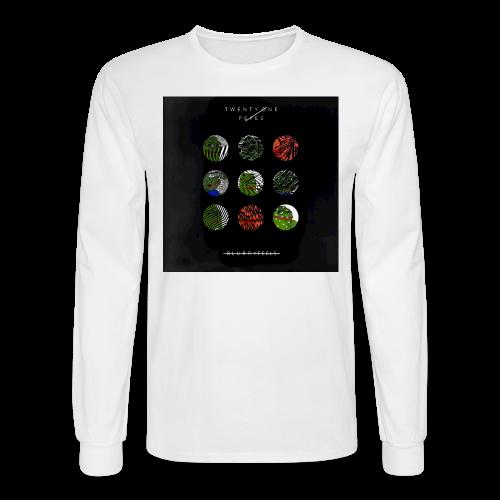 BlurryFeels Long Sleeve White - Men's Long Sleeve T-Shirt