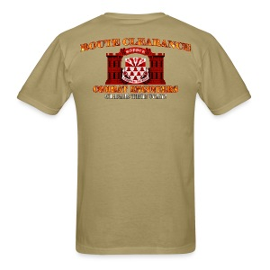 307th En Batt - RC Sapper Back Only - Men's T-Shirt