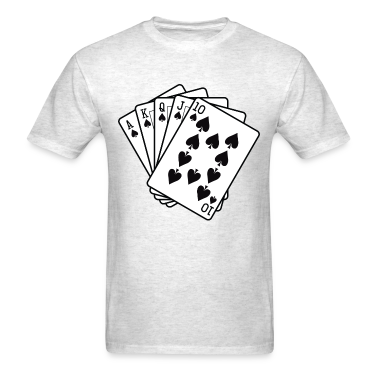 Royal Flush T-Shirts
