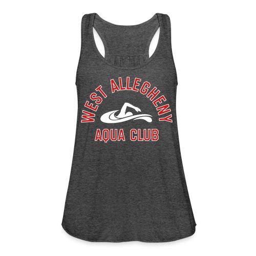 West Allegheny Aqua Club - Grey - Women's Flowy Tank Top by Bella